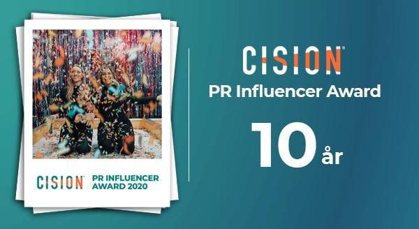 Cision PR Influencer Award